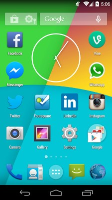 android 2.3 launcher