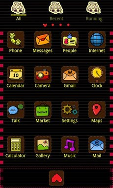 Low CO2 Theme GO Launcher EX-2