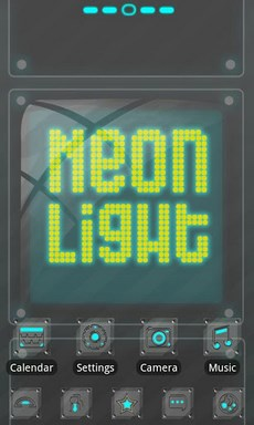Neonlight Theme GO Launcher EX-1