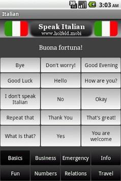 Speak Italian Free-1