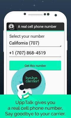 UppTalk Free Calls SMS & text-1