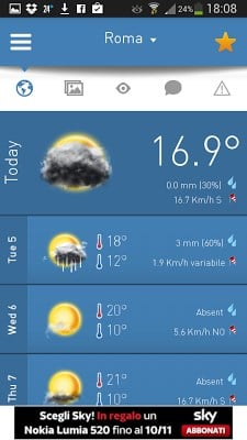 3B Meteo – Weather Forecasts