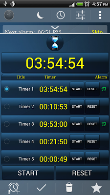 Alarm Clock +Stopwatch +Timers-2