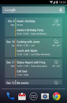 Event Flow Calendar Widget-2