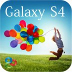 Galaxy S4 Go Launcher EX Theme