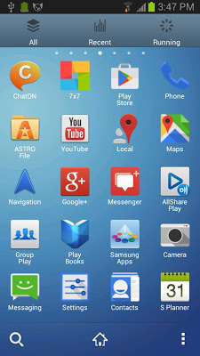 Galaxy S4 Theme Go Launcher EX-2