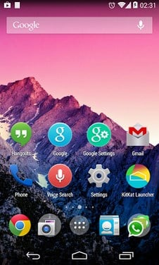 Kcin Launcher - support Kitkat-1