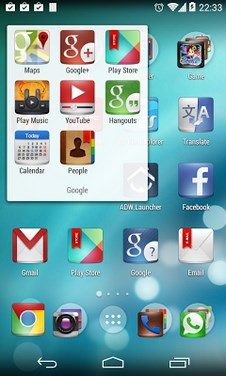 Kcin Launcher - support Kitkat-2