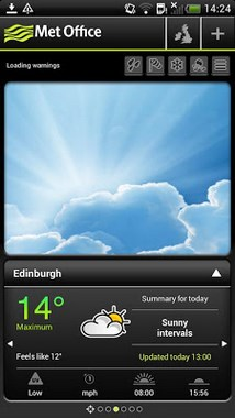 Met Office Weather Application-1