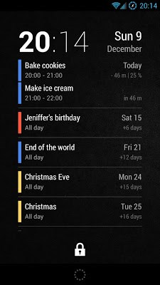 Neat Calendar Widget-1