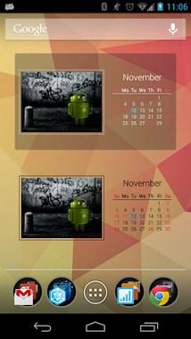 Photo Calendar Widget Free-2