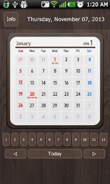 Calendar Widget 2014 Ultimate-1