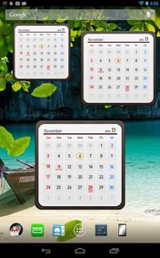 Calendar Widget 2014 Ultimate-2