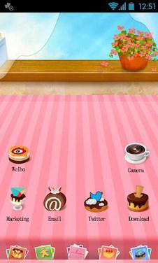 Dessert – GO Launcher Theme