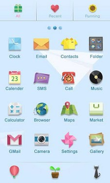 HelloWorld - GO Launcher Theme-2