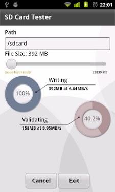 SD Card Tester