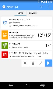 AlarmPad - Alarm Clock Free-2