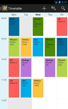 Timetable App-2