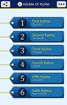 6 Kalma of Islam-1