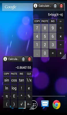 AirCalc On-Screen calculator