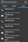 Blacklist – SMS, MMS, Call Blocker
