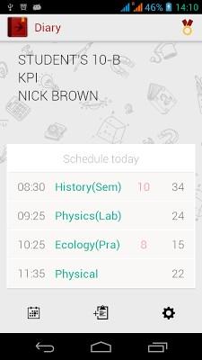 Diary (Timetable)