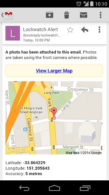 Lockwatch – Find Stolen Phone