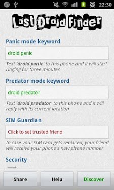 Lost Droid Finder