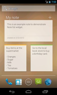Note list notepad – Notes app