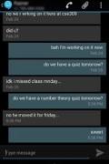 Sliding SMS