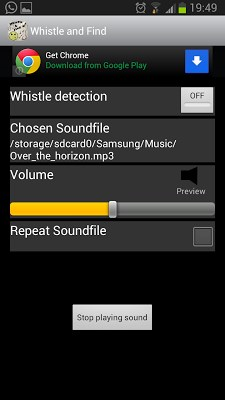Whistle & Find - Phone Finder Lite-2