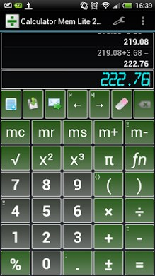 Calculator Mem Lite