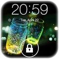 Fireflies Lockscreen Live Wallpaper