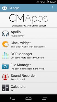 CM Apps - CyanogenMod apps-1