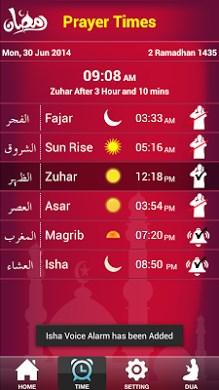 Ramadan 2014 & PrayerTime-1