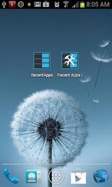 Recent Apps Quick Button