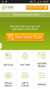 Rinix Free ANTIVIRUS + FREE Security -1