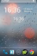 Simple Digital Clock Widget Free