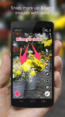 Skitch – Snap. Mark up. Send