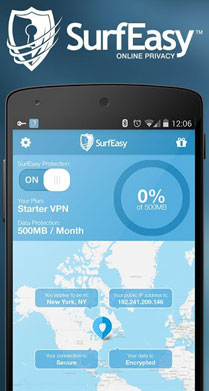 SurfEasy VPN for Android