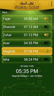 Waktu Solat & Qibla-1