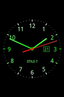 Analog Clock Live Wallpaper-7-1