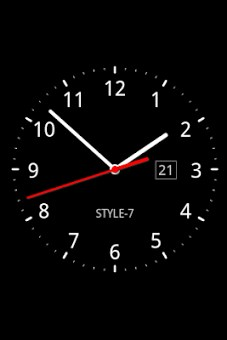 Analog Clock Live Wallpaper-7-2