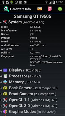 Android Hardware Info-1