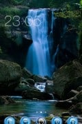 Waterfall Clauncher Theme