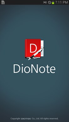 DioNote - Handwriting note-1