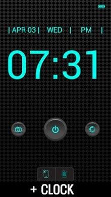 Flashlight + Clock-2