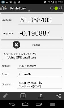 GPS Logger for Android-1