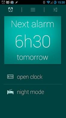 Glimmer (luminous alarm clock)-1