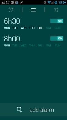 Glimmer (luminous alarm clock)-2